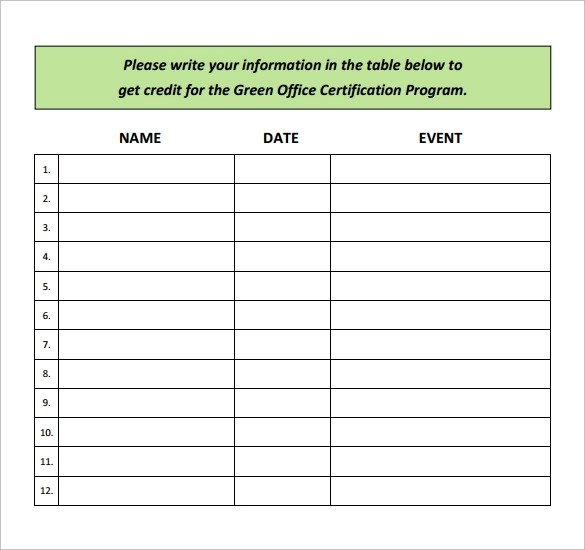 Sample Event Sign In Sheet Template Sign In Sheet For Doctors - sample event sign in sheet template