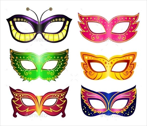 15+ Amazing Masquerade Mask Templates Sample Templates - masquerade mask template