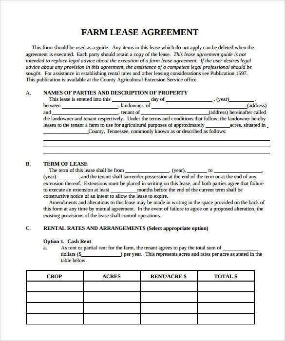 Sample Property Lease Agreement Template - 8+ Documents in PDF - property lease agreement sample