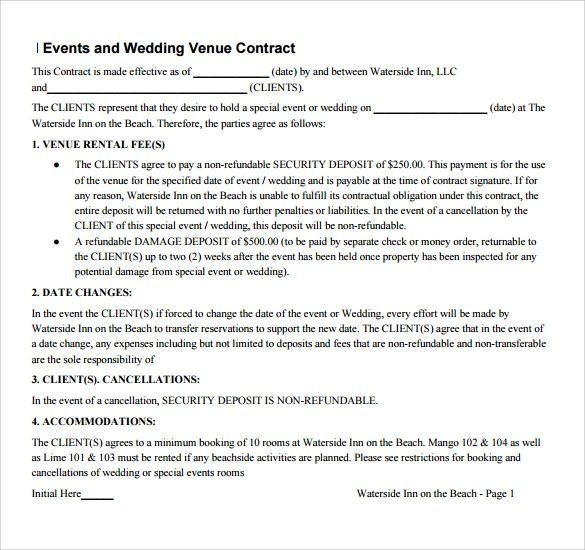 Sample Vendor Contract Template - 10+ Free Samples, Examples, Format - yearly contract template