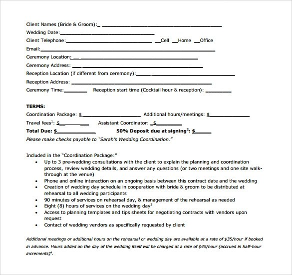 Event Vendor Agreement Template – Vendor Contract Template