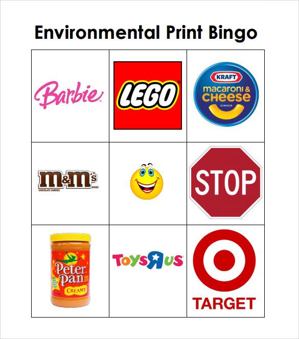 Sample Bingo Card - 11+ Documents in PDF, Word