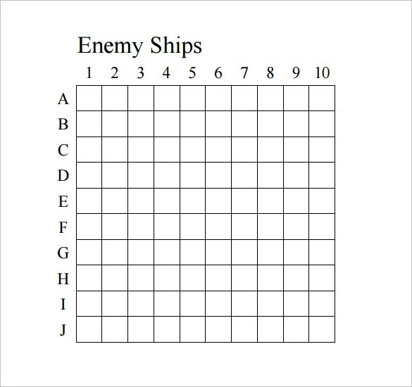 Printable Targets Battleship | Functional Resume Sample For Career