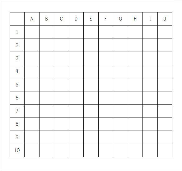 Battleship Game Template Battleship Template Teacheng Excel
