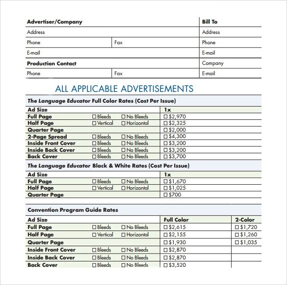 Sample Advertising Contract Template Management Agreements Real - Advertising Contract Template