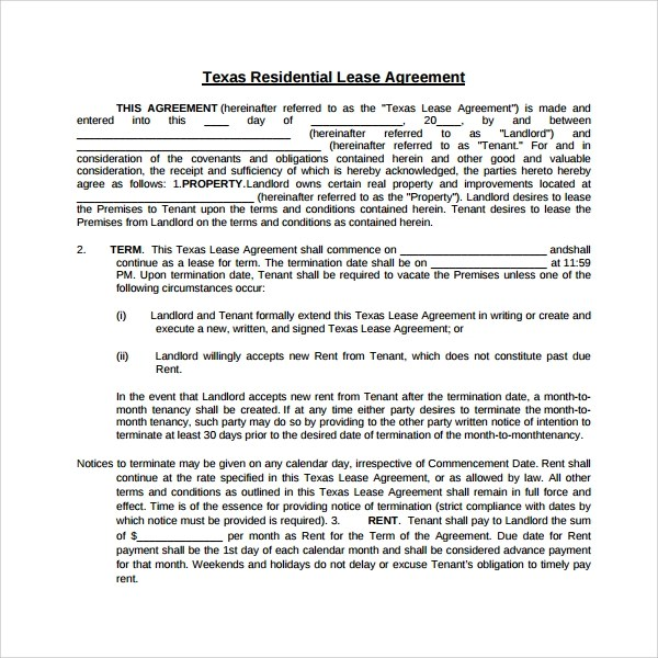 Tenant Lease Form You Can Download A Pdf Version Of The Notarized - tenant lease agreement