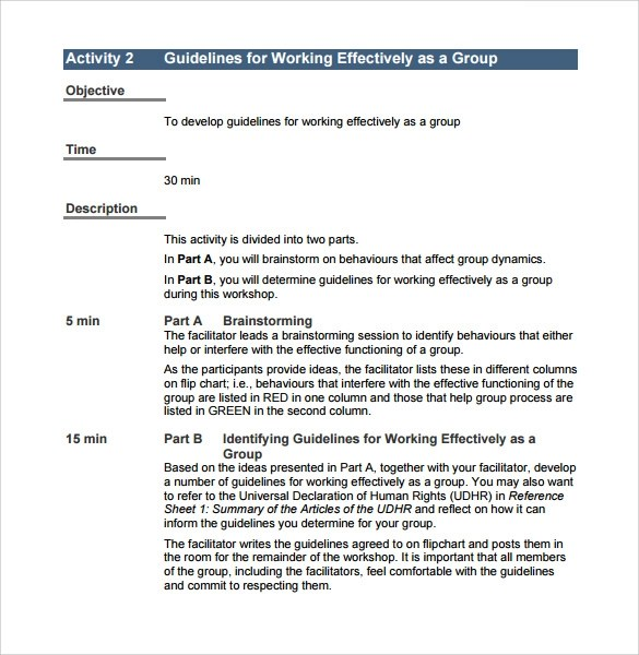 Free Training Manual Templates. human resource policy template 53 hr ...