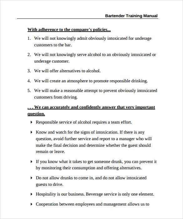 staff training manual template - Maggilocustdesign - sample training manual template