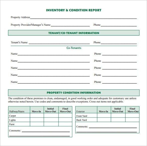 18+ Sample Inventory Reports Sample Templates