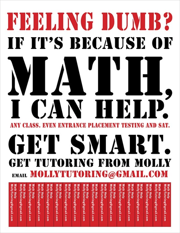 tutoring flyer template free word - Militarybralicious - flyer template free for word