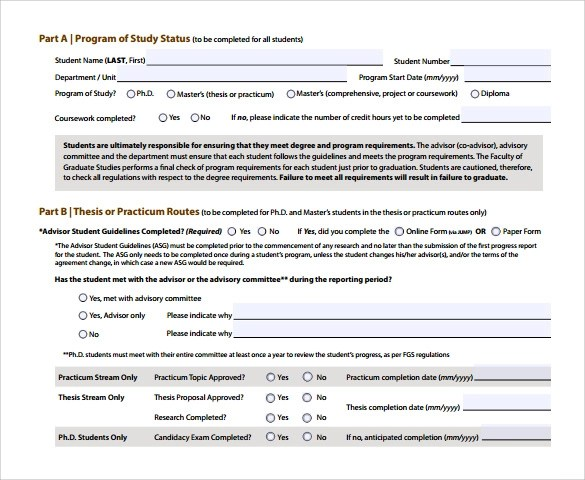 17+ Sample Student Progress Reports Sample Templates