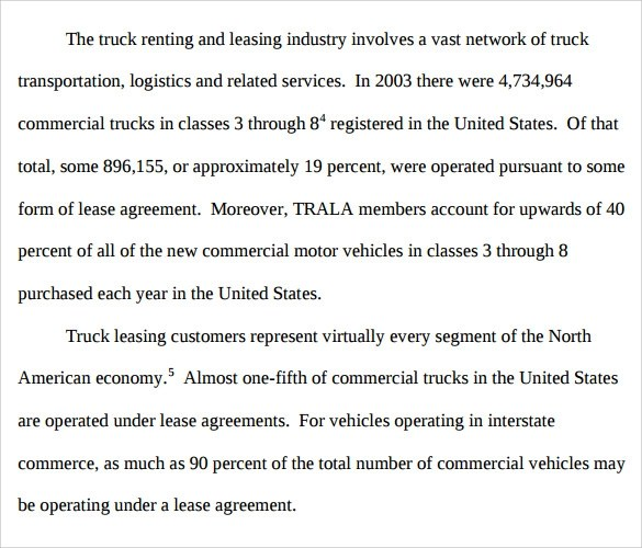Commercial Truck Lease Agreement lease agreement fresh commercial