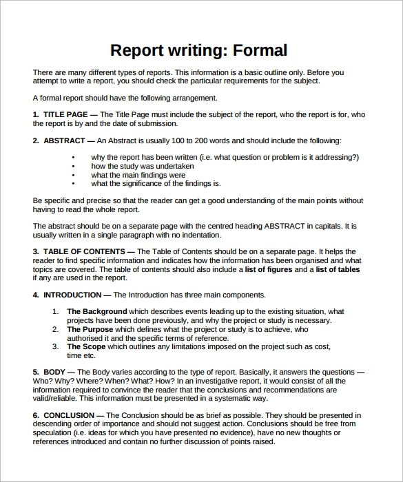 how do you write a formal report All what you need about writing a report why we need to write a report why is the reporter what is the report types of the report bad and good report.