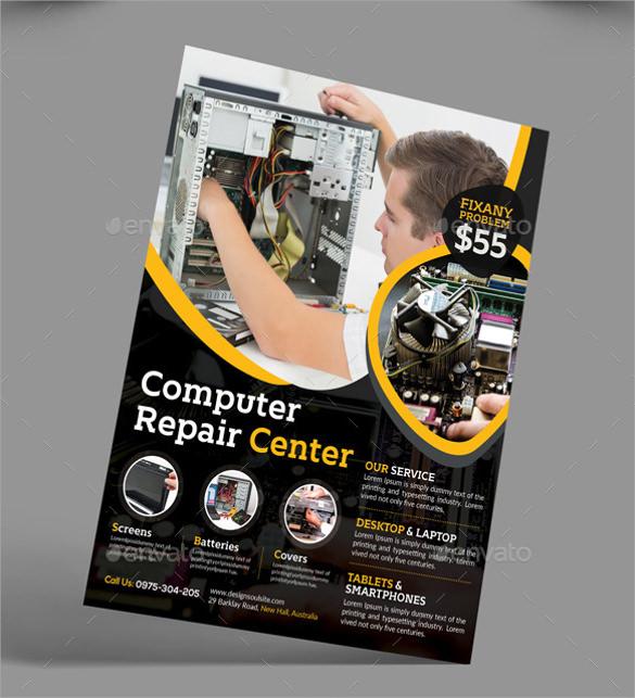 26+ Best Computer Repair Flyer Templates Sample Templates - computer repair flyer template