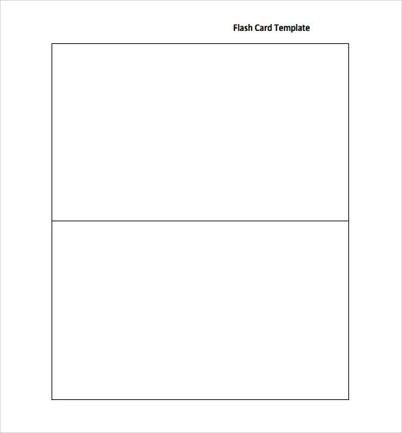 Sample Flash Card - 12+ Documents in PDF - flash card template
