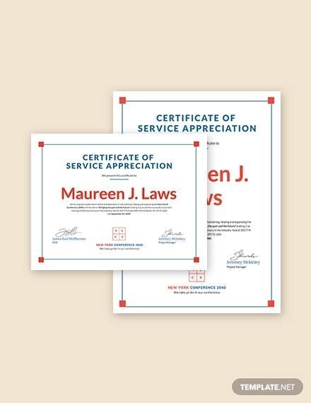 Sample Certificate of Appreciation Templates - 35+ Download