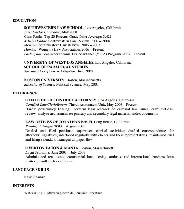 scannable resume template veterinary resume occupationalexamplessamples free edit with word resume format for lawyers pdf free