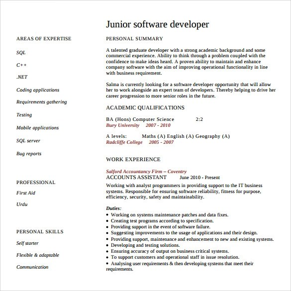 Aaron Crowe Personal Finance Freelance Writer resume jr oracle - resume java developer