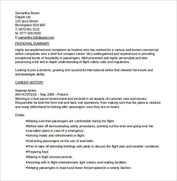 7+ Sample Hostess Resumes Sample Templates - hostess sample resume