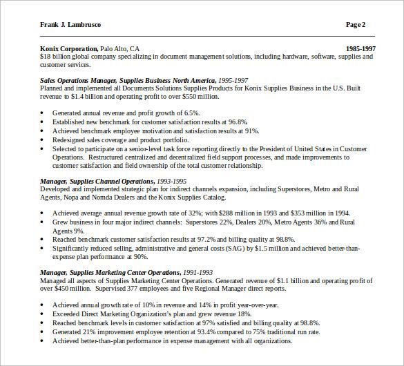 resume template free uk