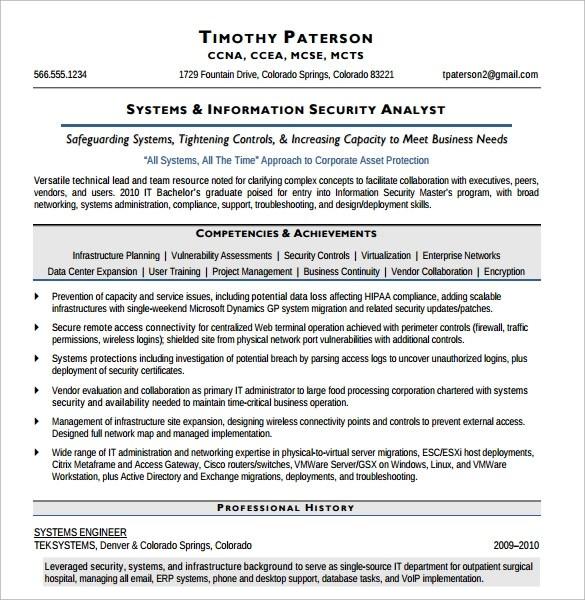 network security specialist sample resume node2004-resume-template - physical security specialist sample resume