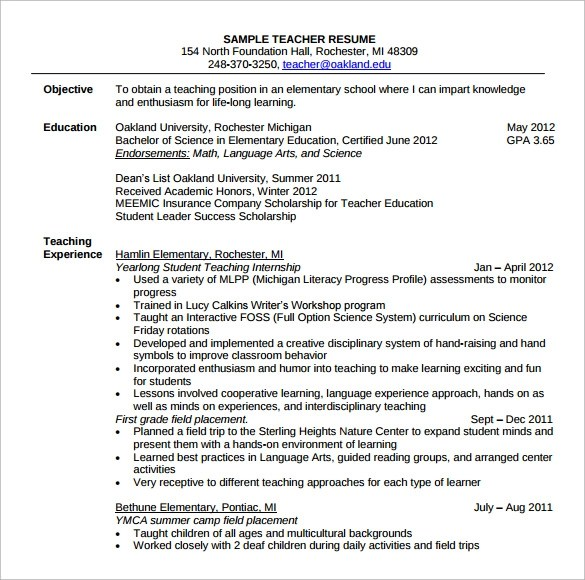 faculty resume sample resume templates special education. Resume Example. Resume CV Cover Letter