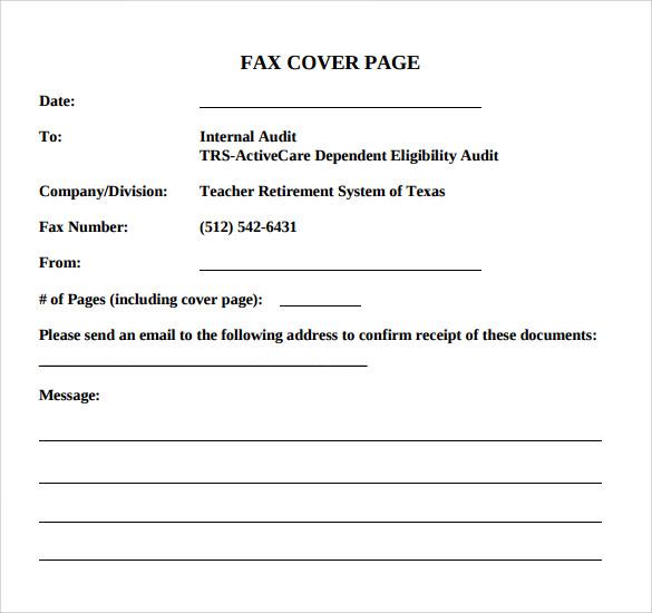 14+ Sample Basic Fax Cover Sheets Sample Templates - basic fax cover sheet