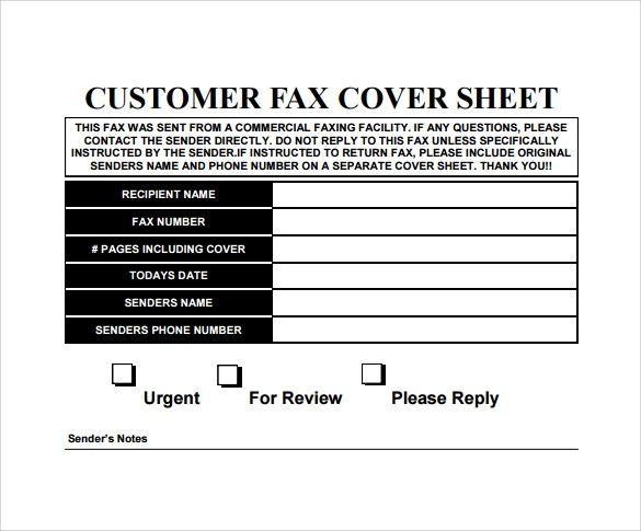 Fax Cover Sheet Free madebyrichard - sample urgent fax cover sheet