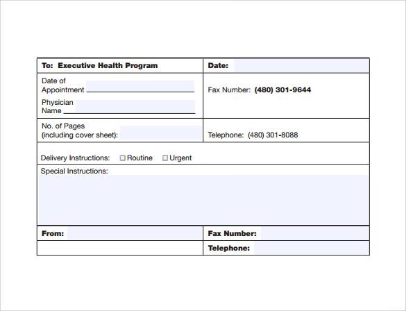 15 Urgent Fax Cover Sheets \u2013 Samples, Examples  Formats Sample