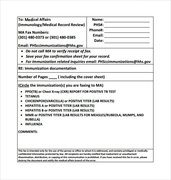 15+ Sample Medical Fax Cover Sheets Sample Templates - sample medical fax cover sheet