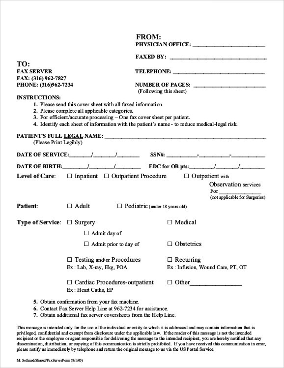 8+ Sample Fax Cover Sheet for Resumes Sample Templates