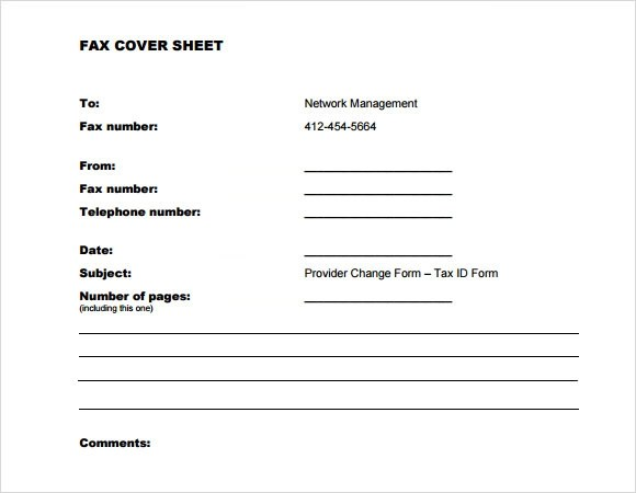8+ Sample Fax Cover Sheet for Resumes Sample Templates - Resume Coversheet