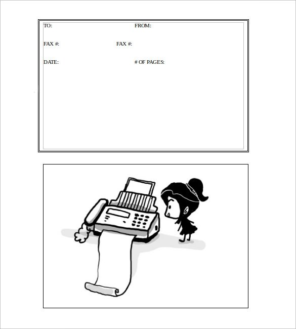 Sample Funny Fax Cover Sheet - 5+ Documents In PDF, Word - sample cute fax cover sheet