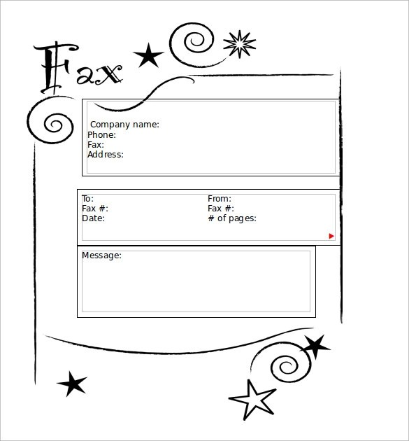 8+ Sample Cute Fax Cover Sheets Sample Templates