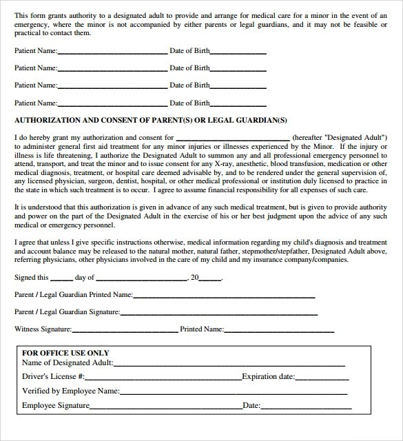 8 Sample Medical Authorization Letter \u2013 Free , Examples  Format