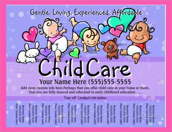 30+ Daycare Flyer Templates Sample Templates