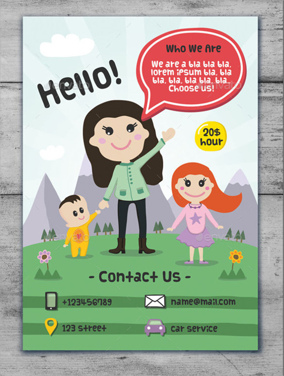 free daycare flyer templates - Mersnproforum