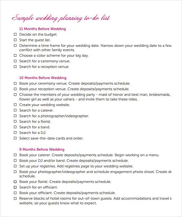 Event guest list template templatescharacterworldco – Bridal Party List Template