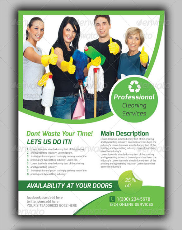 House Cleaning Flyers Template - 17+ Download Documents in Vector EPS