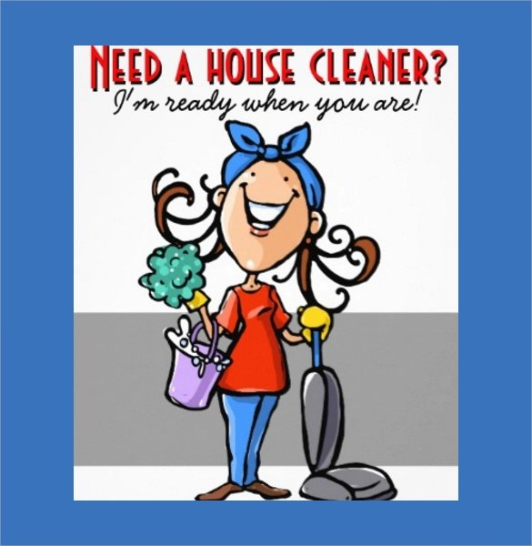 17+ Printable House Cleaning Flyers Templates Sample Templates
