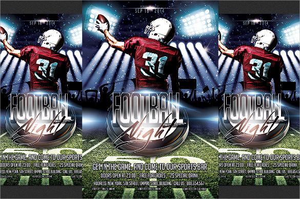 15+ Spectacular Football Flyer Templates Sample Templates - football flyer template free