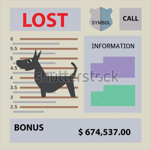 missing pet flyer template free - lost pet flyer template free