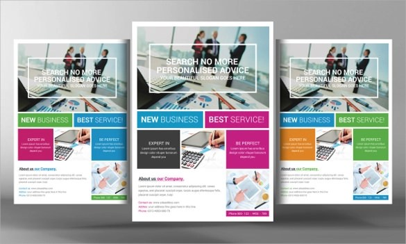Marketing Flyer Template - 20+ Download Documents In Vector EPS, PSD