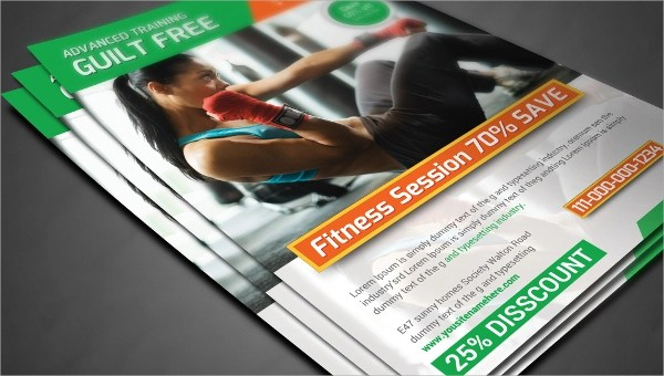 28+ Fitness Flyer Templates - Word, PSD, AI, Publisher