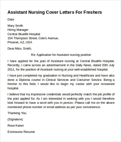 Bariatric Nurse Cover Letter - sarahepps - - bariatric nurse practitioner sample resume