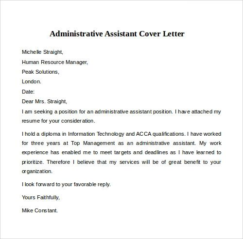 cover letter sample for customer service job