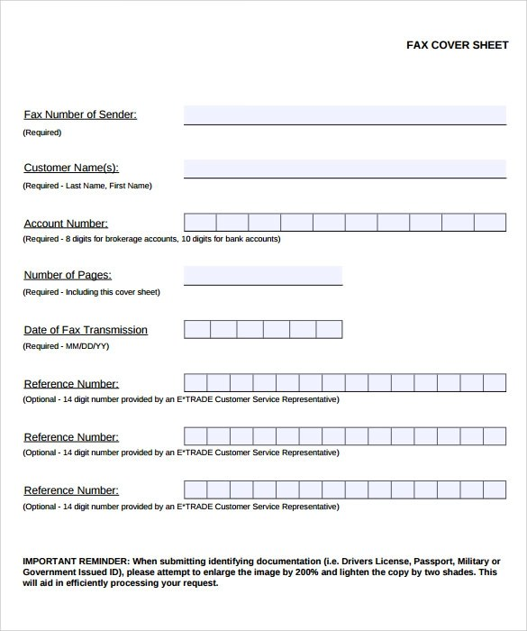 Sample Fax Cover - 8+ Documents in PDF - fax sheet example