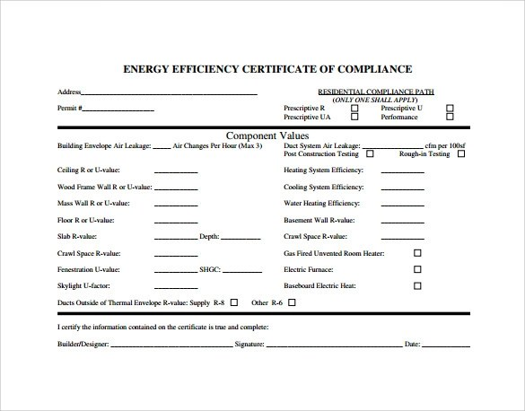 13+ Certificate of Compliance Samples Sample Templates - certificate of compliance template