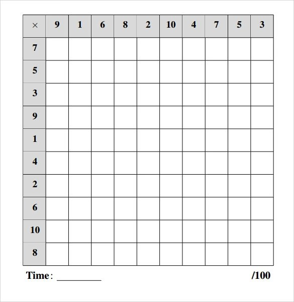 10 Multiplication Frenzy Worksheets to Download for Free Sample - multiplication frenzy worksheet