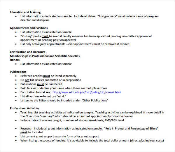 27+ CV Samples Sample Templates - medical cv template